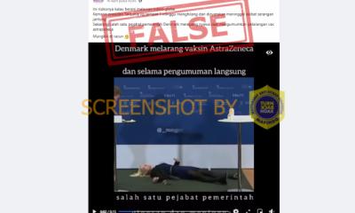 """[SALAH] Video """"salah satu pejabat pemerintah Denmark meregang nyawa saat"""