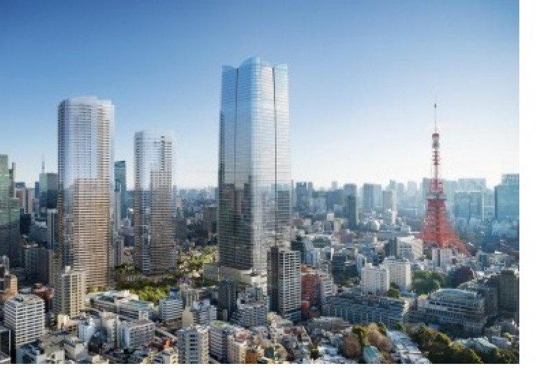 Proyek Toranomon-Azabudai dan Proyek Area Perbukitan Toranomon di Tokyo yang