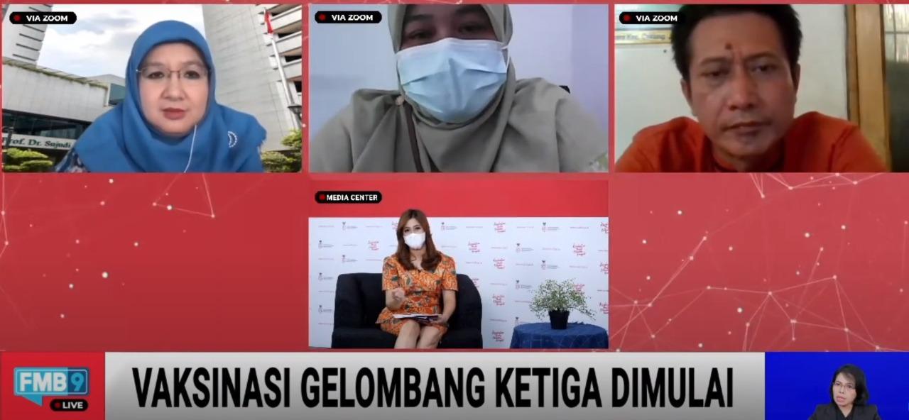 Vaksinasi untuk Masyarakat Rentan di Zona Merah Dimulai di Jakarta