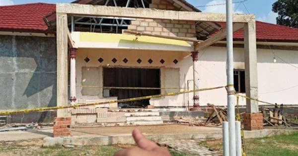 Pasca Dibakar Massa, Mapolsek Candipuro Kembali Beroperasi, 12 Orang Ditetapkan