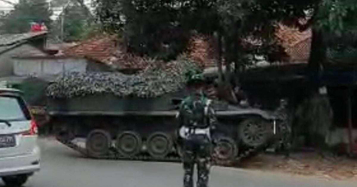 Kapendam Jaya Jelaskan Soal Tank TNI Disebut Ikut Menyekat Pemudik