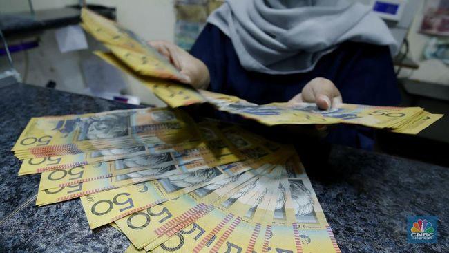 Jeblok 1% Lebih, Kurs Dolar Australia Dekati Rp 11.000/AU$