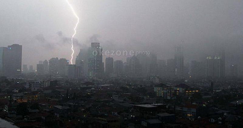 Hujan Guyur Jakarta dan Sekitarnya, 3 Pintu Air Berada di