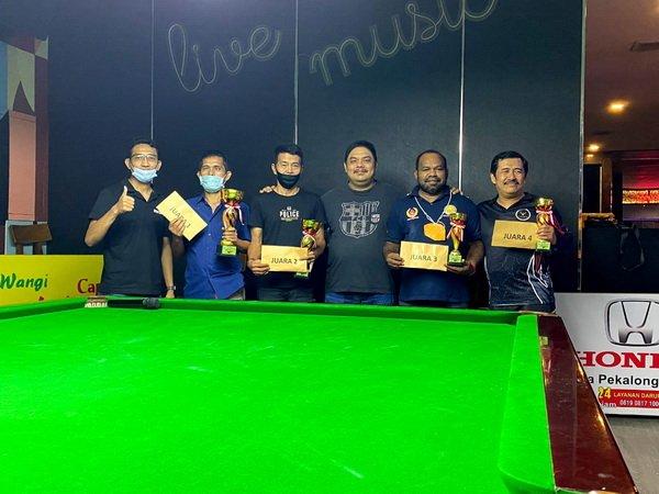 Irwanto, Atlet Jawa Barat Menjadi Juara Turnamen Snooker Six Red