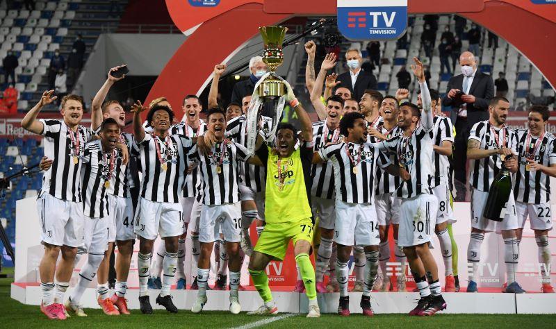 Juventus Juara Coppa Italia 2020-2021, Buffon dan Pirlo Torehkan Rekor