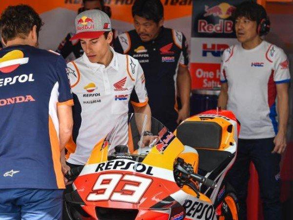 Marc Marquez Targetkan Putus Puasa Kemenangan Honda