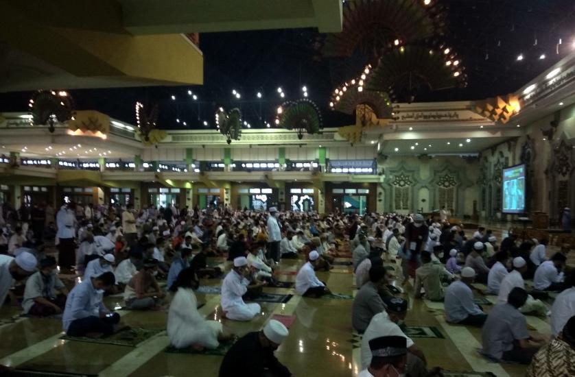 Sholat Idul Fitri di Masjid Jakarta Islamic Centre, Berikut Foto-fotonya